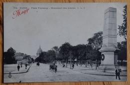 Paris 7e - Place Fontenoy - Monument Des Armées - Animée : Petite Animation - Publicité Maggi - (n°13316) - District 07