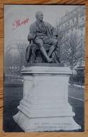 Paris 9e - Square D'Anvers - Statue De Diderot - Publicité Maggi - (n°13318) - District 09