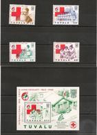 TUVALU Année 1988 Croix Rouge  N°Y/T : 484/87**  Et Bloc 30** - Tuvalu