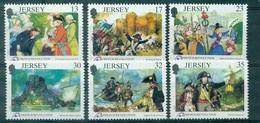 JERSEY N°479 / 484 Série Révolution De 1789  N Xx TB.cote:10.00 €. - Jersey