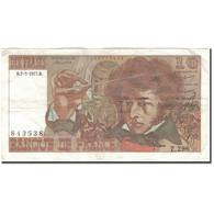France, 10 Francs, 10 F 1972-1978 ''Berlioz'', 1977-03-03, TB+, Fayette:63.21 - 1962-1997 ''Francs''
