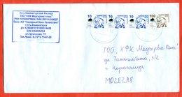 Kazakhstan 2018. Bears. The Envelope Is Really Past Mail. - Kazakhstan