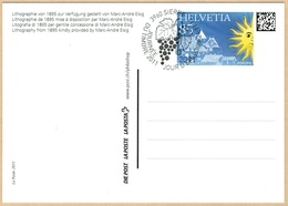 CARTE OBLITERE .24.11.2011. C/DES TIMBRES SUISSES Nr:1412A. Y&TELLIER Nr:2155. MICHEL Nr:2232. - Switzerland