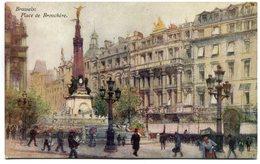 CPA - Carte Postale - Belgique - Bruxelles - Place De Brouckère (SV5926) - Places, Squares