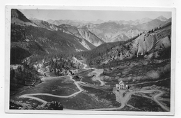 (RECTO / VERSO) COL D' IZOARD EN 1952 - N° 1 - REFUGE NAPOLEON - BEAU CACHET - FORMAT CPA VOYAGEE - France
