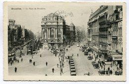CPA - Carte Postale - Belgique - Bruxelles - Place De Brouckère - 1939 (SV5928) - Places, Squares