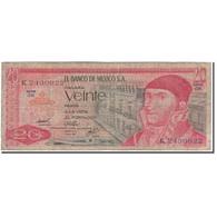 Billet, Mexique, 20 Pesos, 1976-07-08, KM:64c, B - Mexique