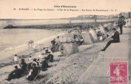 Paramé (35) - La Plage Du Casino - L'Epi De La Hoguette - La Pointe De Rochebonne - Unclassified