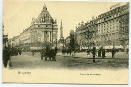 CPA - Carte Postale - Belgique - Bruxelles - Place De Brouckère (SV5929) - Places, Squares