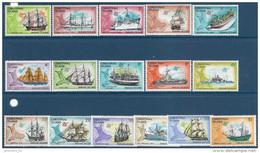 1972-73 CHRISTMAS 39-54 **  Bateaux, Voiliers, Carte - Christmas Island