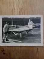 Photo Original De Tennis De Table Ping Pong - Deportes