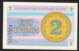 Kazakistan :   2 Tiyn - 1993 - UNC - Kazakhstan