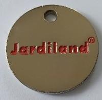 Jeton De Caddie - JARDILAND - En Métal - Neuf - - Jetons De Caddies