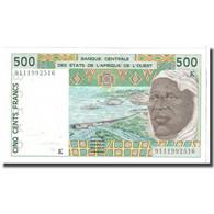 Billet, West African States, 500 Francs, 1991, KM:710Ka, TTB+ - Sénégal