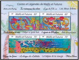 """Wallis Bloc YT 19 """" Contes Et Légendes """" 2005 Neuf** - Hojas Y Bloques"""
