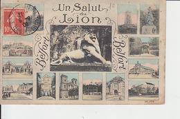 BELFORT : Un Salut Du Lion - Belfort – Le Lion