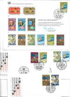 1602r: Trade And Development, Erinnerungskarte Und FDCs Wien, Genf, NY - New York - Hoofdkwartier Van De VN