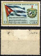 CUBA - 1976 - Socialist Constitution - MH - Cuba