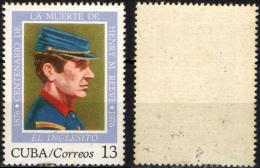 "CUBA - 1976 - Death Cent. Of ""El Inglesito"" - Henry M. Reeve - MH - Cuba"