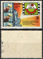 CUBA - 1976 - 8th Intl. Health Film Festival Of Socialist Countries, Havana - MH - Cuba