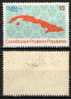 CUBA - 1976 - Constitution Of Popular Government - MH - Cuba