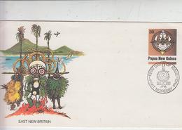 PAPUA NUOVA GUINEA  1989 -  FDC - Maschere - Papua Nuova Guinea