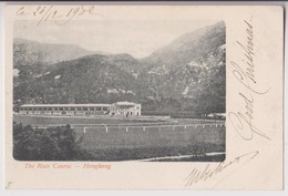 THE RACE COURSE - HONGKONG ( HONG KONG ) - HIPPISME - ECRITE EN 1902 - 2 SCANS - - Chine (Hong Kong)