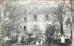 Institution Sainte Elisabeth 7, Boulevard Montparnasse Paris  CPA 1908 - Enseignement, Ecoles Et Universités