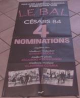 AFFICHE CINEMA ORIGINALE FILM LE BAL Ettore SCOLA Etienne GUICHARD 1983 Vladimir COSMA Nominations Césars 1984 - Posters