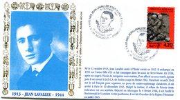 Bureau Temporaire Morangis Du 16 Octobre 2004 - Jean Lavallée Buchenwald - X 750 - WW2