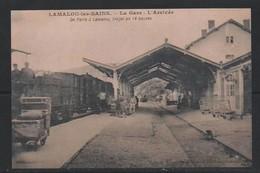 PAS DE CHEQUE LAMALOU LES BAINS Gare Station Train     34 HERAULT - Repro's