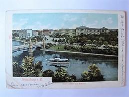 FRANCE - BAS RHIN - STRASBOURG - Université Et Pont - 1903 - Strasbourg
