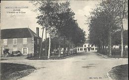 Chatillon Sur Loire  L' Avenue De La Gare - Chatillon Sur Loire