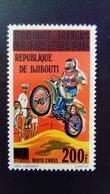 Djibouti 1977 Cross Afars Et Issas Surchargé Overprint Yvert 456 ** MNH - Djibouti (1977-...)