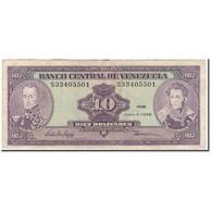 Billet, Venezuela, 10 Bolívares, 1995-06-05, KM:61d, TB+ - Venezuela