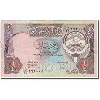 Billet, Kuwait, 1/4 Dinar, 1980, KM:11b, TB - Koweït