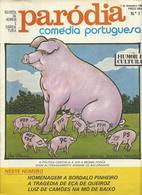 Magazine * Portugal * Humour*Cartoon*Erotic* Paródia * 1980 * Nº1 - Books, Magazines, Comics