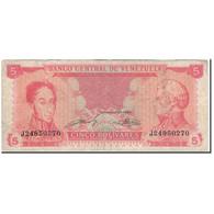 Billet, Venezuela, 5 Bolivares, 1989-09-21, KM:70b, TB - Venezuela
