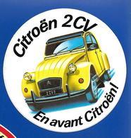 A.C.CITROEN 2 CV - Stickers