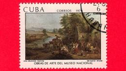 CUBA - Usato - 1979 - Opere D'arte Del Museo Nazionale - David Wilkie - Riunione Festiva - 6 - Cuba