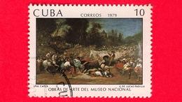 CUBA - Usato - 1979 - Opere D'arte Del Museo Nazionale - Tauromachia, Dipinto Di Eugenio Lucas Padilla (1824-1870) - 10 - Cuba