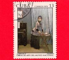 CUBA - Usato - 1979 - Opere D'arte Del Museo Nazionale - L'ora Del The Dipinto Di R. Madrazo - Teatime - 13 - Cuba