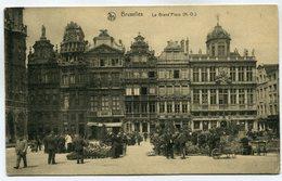 CPA - Carte Postale - Belgique - Bruxelles - La Grand Place - 1928 (SV5936) - Marktpleinen, Pleinen