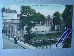 MALINES : L'athenée Et Entrée Du Jardin Botanique En 1923 - Machelen