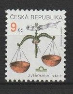 MiNr. 217 Tschechische Republik / 1999, 5. Mai. Freimarke: Tierkreiszeichen. - Tschechische Republik