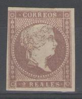 ESPAGNE:  N°46 *       - Cote 75€ - - 1850-68 Royaume: Isabelle II