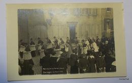 BOULOGNE SUR MER-Procession Du 22 AOUT 1915-Carte Photo 3 - Boulogne Sur Mer