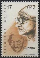 BELGIQUE 2859 (COB 2862) ** MNH Mahatma GANDHI Apôtre De La Non-violence Et De La Paix India Inde - Unused Stamps