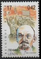 BELGIQUE 2861 (COB 2864) ** MNH Homme Politique Russe Vladimir Ilitch Oulianov LENIN LENINE Ленин - Unused Stamps