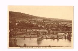 Godinne-sur-Meuse.La Meuse Et La Rue D'en Bas. - Yvoir
